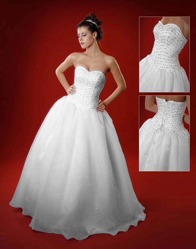Sweetheart vestiti da sposa