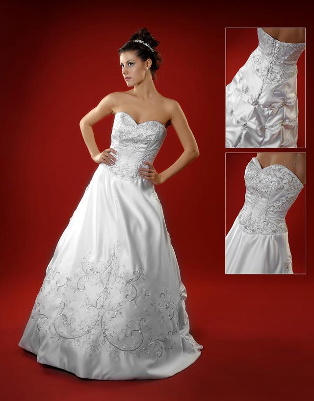 Vestiti da sposa sweetheart